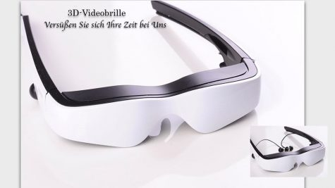 cinemizer OLED 3D-Videobrille